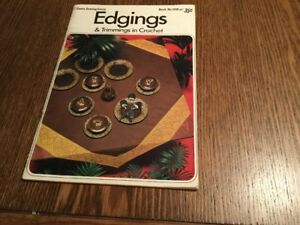Edgings and Trimmings in Crochet - Coats Sewing Group - Pamphlet
