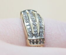 Vintage 10K Yellow Gold 1/4 TCW Diamond Accent Ring .25 Carats