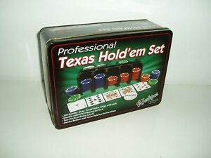 Professional Texas Hold-em Set.