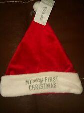 My First Christmas Baby Santa Hat
