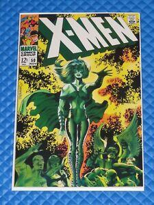 **X-Men #50 Marvel All Original Interior W/Reproduction Cover Key 2nd Polaris**