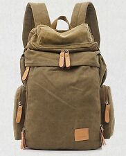 Hot Minimalist bag Canvas backpack Travel Camping College Vintage Backpack