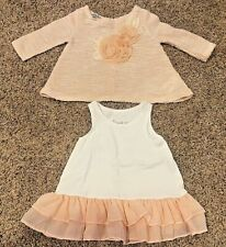 *Nice* Baby Girls-Size 18 months-Pippa & Julie 2-piece Dress/Sweater Outfit