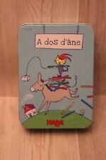 A dos d'âne - HABA - jeu d'adresse, équilibre, dextérité
