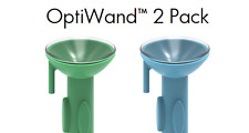 OptiWand 2 Pack Soft contact lens insertion & removal tool. Lense applicator
