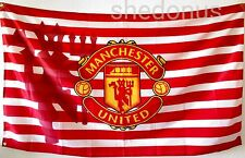 NEW Manchester United Flag Banner 3 x 5 ft England Premier Football Soccer Reds