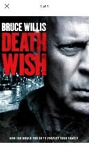 Death Wish (DVD,2018) NEW Action Thriller Crime Free Shipping with USA Seller