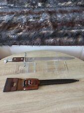 Swiss Army Bayonet Knife M1899 Schmidt Rubin Scabbard Frog 1WW 2WW NEUHAUSEN SIG