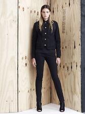 NWT Authentic DAMIR DOMA SILENT Black Cotton Denim SKINNY Jeans Pants L