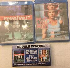 Revolve & Run Lola Run Blu-ray, Double Feature 2-Disc, Brand New