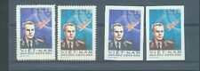 North Vietnam 1961 Space Titov's space flight sg.N185-6   perf and imperf  MNH
