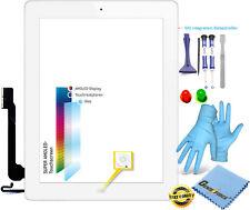 Touchscreen Glas Digitizer für Apple iPad 4 mit Original LVA F-Kabel - WEIß