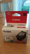 New Genuine Canon Pixma CL- 241 XL Color Ink Cartridge New in Box Sealed