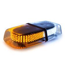 240 LED Law Enforcement Emergency Warning LED Mini Strobe Light Bar White/Yellow