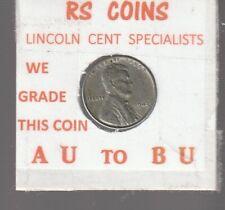 1943  LINCOLN CENT ~~ALMOST UNC~~  RS COINS #32910 +free bonus BU jefferson 5c