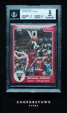 1984-85 Star Michael Jordan XRC #101 BGS 8 With Two 9 Subgrades Rare Rookie Card