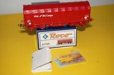 """RF18] Roco H0 67729 Schiebeplanenwagen Bauart Shimmns """"NS Cargo"""" der NS OVP TOP"""