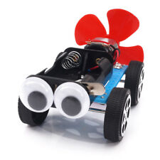 Diy Primary School Science Experiment Car Kit Air Wind Gizmos Toys Puzzle Gift