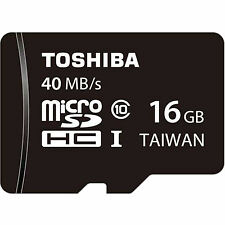 Toshiba 16GB MicroSDHC Speicherkarte