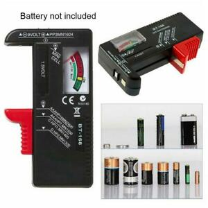 Battery Tester Tool Button Checker Accessory Low Power Portable Universal K4O5