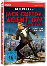 Jack Clifton Agent 077 - Collection * DVD 3 Filme mit Ken Clark * Pidax Film Neu