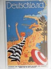 POSTCARD  DEUTSCHLAND AN DER OSTEE - POSTER CARD - GERMANY