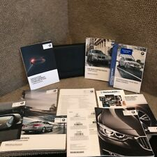 2015 BMW 5 Series 535i 550i Owners Manual set with Navigation guide and case