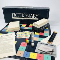 Vintage First Edition Pictionary 1985 Original Quick Draw Board Game Complete