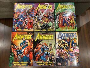 Avengers Assemble Volumes 1 2 3 4 5 & Avengers Forever OHC Busiek Perez LOT