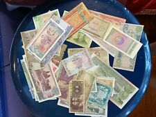 Banknote Lot of over 50 different from Asia
