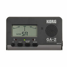 Korg Handheld Guitar And Bass Tuner, Black