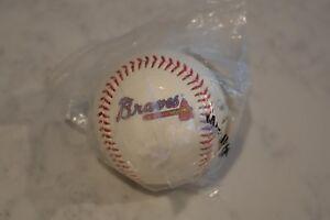 1994 Atlanta Braves Baseball Team Stamped Autograph Ball - New/Sealed - Chevron