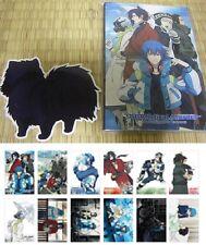 RARE DRAMAtical Murder Post Card SET + Ren Sticker Aoba Clear Noiz Koujaku AGF