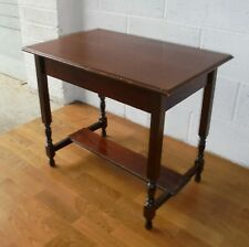 VINTAGE MAHOGANY SIDE HALL CONSOLE LAMP TABLE LITTLE PROJECT