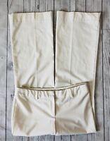 Women's Express Editor Cream Dress Pants-Size 6
