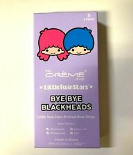 the CREME SHOP Little Twin Stars BYE BYE BLACKHEADS Nose Strips