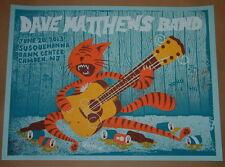 Doe Eyed Design Dave Matthews Band Camden Poster Print Signed & Numbered 2013