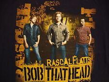 Rascal Flatts Bob That Head Country Music Concert Tour 2008 Souvenir T Shirt M
