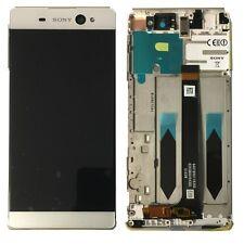Sony Display LCD Komplett mit Rahmen für Xperia XA Ultra F3211 Weiß Ersatzteil