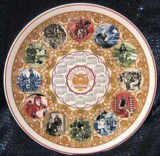 Wedgwood Porcelana Fina placa de calendario 1999 Literatura Aprox 10ins de ancho