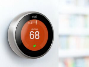 Google Nest Pro 3rd Gen. Learning Thermostat - New Stainless Steel (T3008US)
