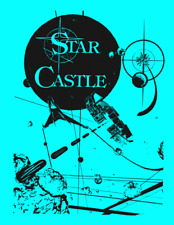 Star Castle Arcade Video Game FULL Service & Repair Operations Manual Guide   XB