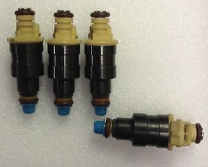 STANDARD SET OF 4  FJ517 NEW  Fuel Injector PEUGEOT	505 (1985)