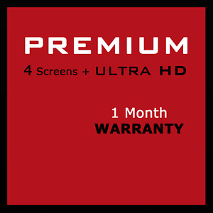 Netflix UHD Limited Replacements included