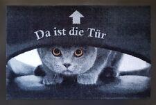 Fußmatte Bodenmatte Katzen *Da ist die Tür...* Home  Fußabtreter  40 x 60 cm