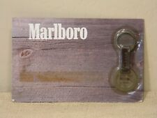 """Vintage New in the Package """"The Marlboro Brand"""" Leather Key Chain"""