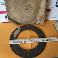 Studebaker, clutch lining,  197404.  9 1/4 inch.    Item:  2515