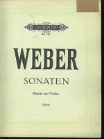 Weber : Sonaten für Violine und Klavier