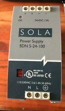 Sola Sdn 5 24 100 Power Supply