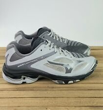 Mizuno Women's Wave Lightning Z3 Volleyball Shoes Gray Size 8 M 430228-9191
